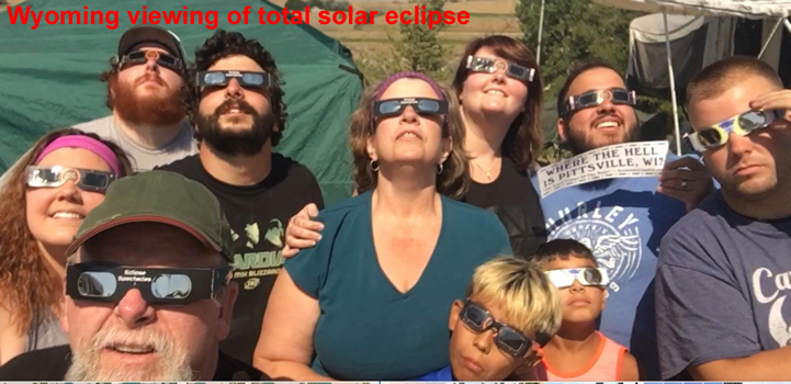 Wyoming eclipse