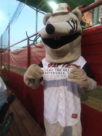 Rafter's mascot