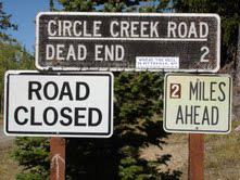 Circle Creek Road