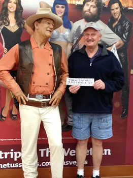 with John Wayne